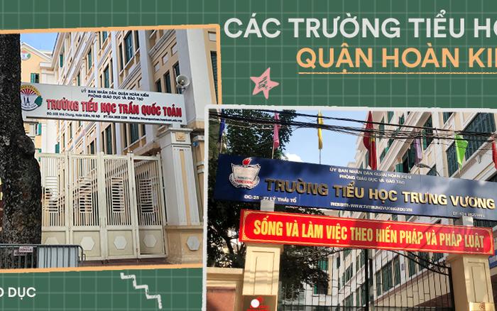 Thông tin tuyển sinh vào lớp 1 của 13 trường tiểu học tại Hoàn Kiếm ...