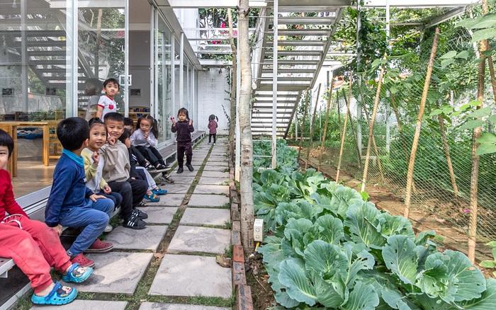Mê đắm ngôi trường mầm non hiện đại ở Hạ Long: Đi học mà như đi khu du lịch ...