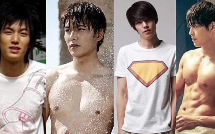 Chỉ là tập gym thôi nhưng nhan sắc của các mỹ nam Hàn Quốc đều biến ...