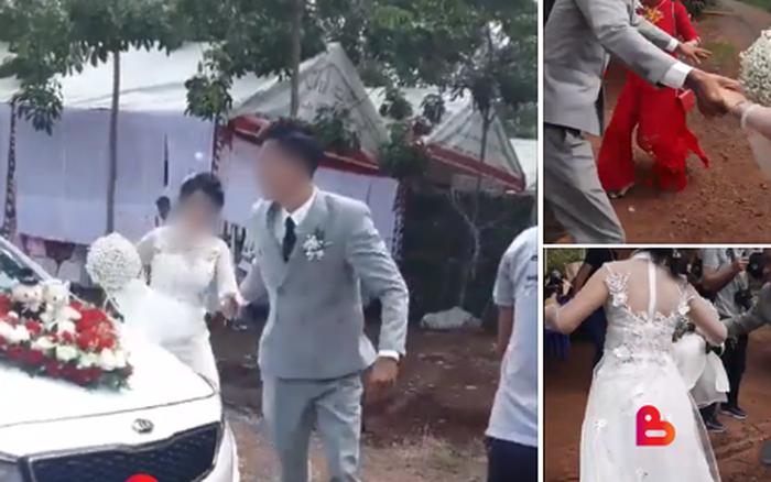 Người trong cuộc lên tiếng vụ cô dâu chửa trước bị mẹ chồng bắt đi cửa sau