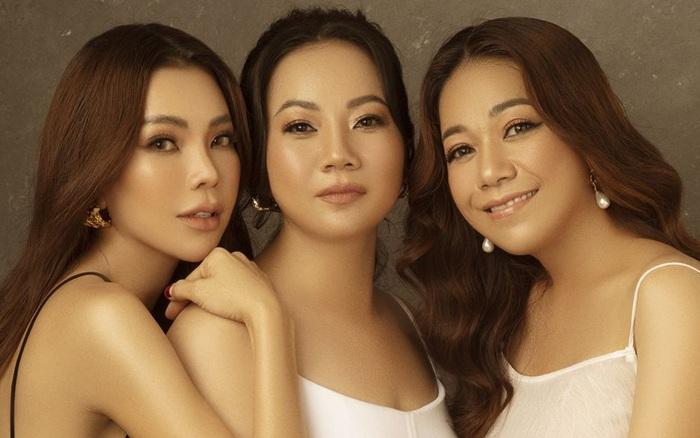 Trà Ngọc Hằng lần đầu khoe 2 chị gái xinh đẹp