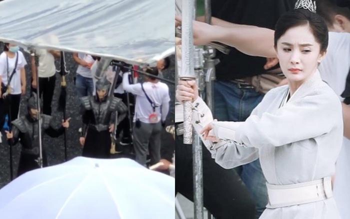"""""""Hộc Châu phu nhân"""": Dương Mịch lộ cảnh mặc áo ..."""