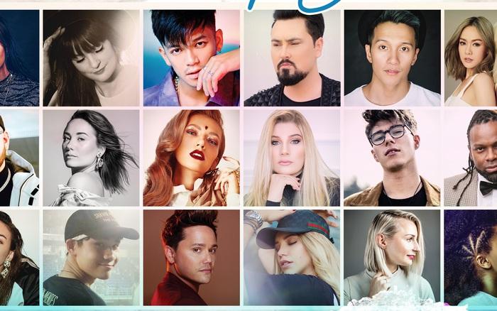 Trọng Hiếu cùng 17 nghệ sỹ nổi tiếng thế giới góp giọng trong ca khúc mới ...