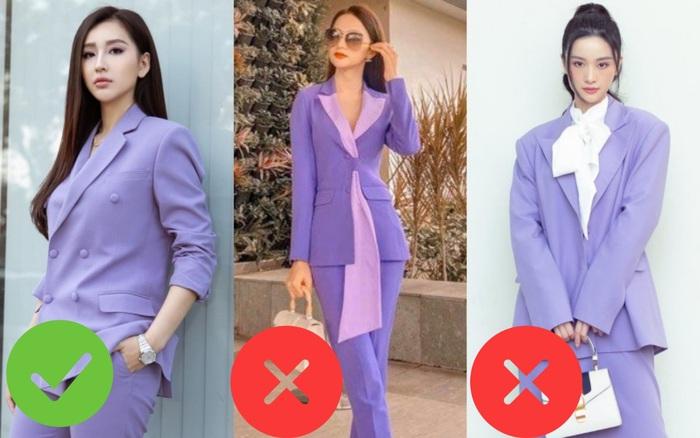 Sao Việt khi diện suit tím hot trend: Người đẹp tinh tế, người sến sẩm