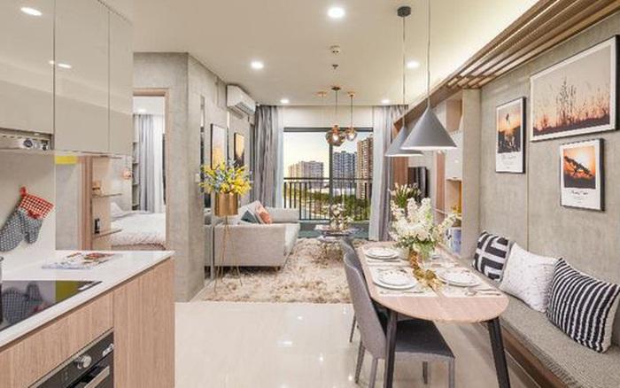 Tư vấn thiết kế cải tạo căn hộ chung cư diện tích 55m² với tổng chi phí 116 ...
