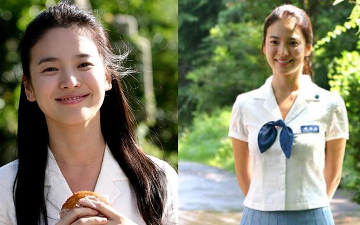 Nhìn lại những lần Song Hye Kyo mặc đồng phục