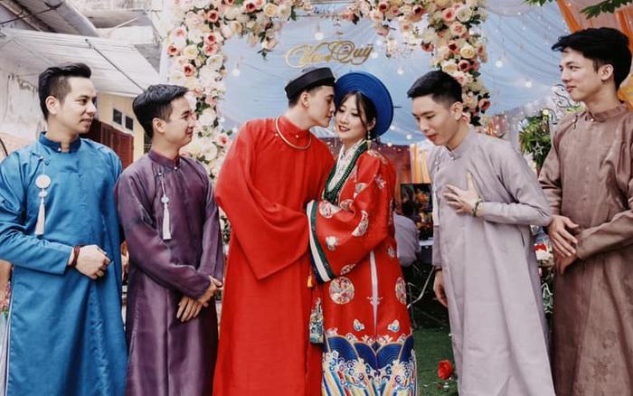 """Bộ ảnh cưới cực độc đáo của cặp đôi Cao Bằng nhận """"bão ..."""