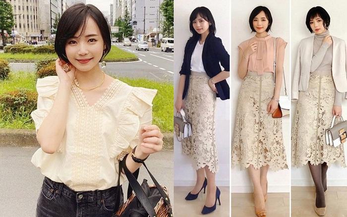 Nàng luật sư Nhật chỉ cao 1m56 và toàn diện đồ cơ bản nhưng style vẫn hack ...