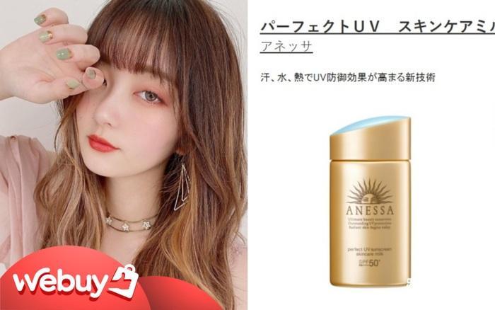 8 món skincare bán chạy nhất Nhật Bản
