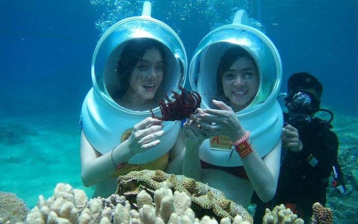 Chưa đến 1 triệu đồng⁄người đi tản bộ ngắm vịnh san hô ở Nha Trang