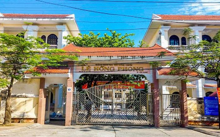 Đề Toán tuyển sinh lớp 10 trường THPT chuyên Lê Hồng Phong, Nam Định