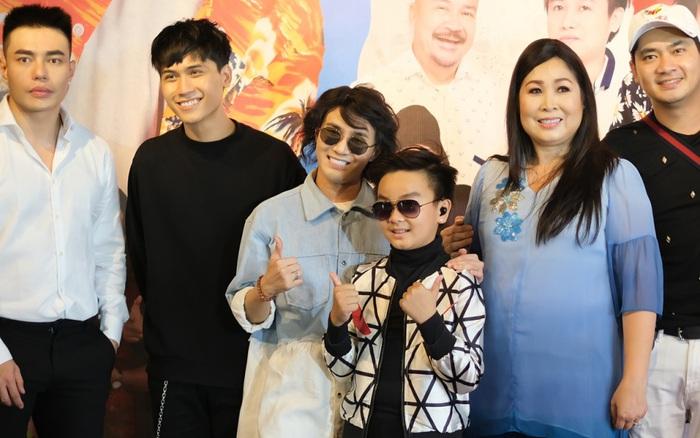 Dàn diễn viên hài quy tụ mừng Hồng Vân ra mắt phim mới