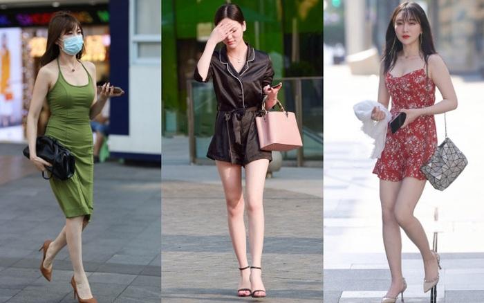 Street style Châu Á tuần này: Chăm diện váy ôm nhưng nhiều ...