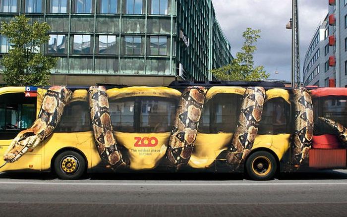 11 quảng cáo xe bus cực thông minh và ấn tượng, nhìn một lần ...