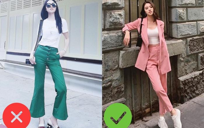 Nhìn Jolie Nguyễn mà rút kinh nghiệm, chị em đừng chọn mẫu quần này ...