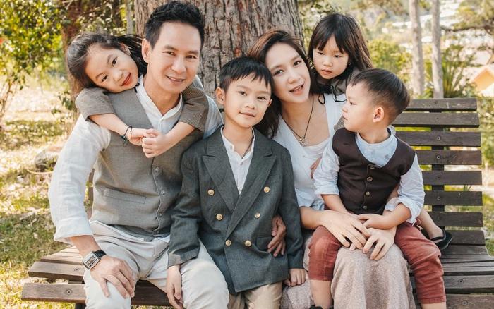 Có 4 mặt con, vợ chồng Lý Hải - Minh Hà vẫn khoe ảnh ngọt ngào như ...