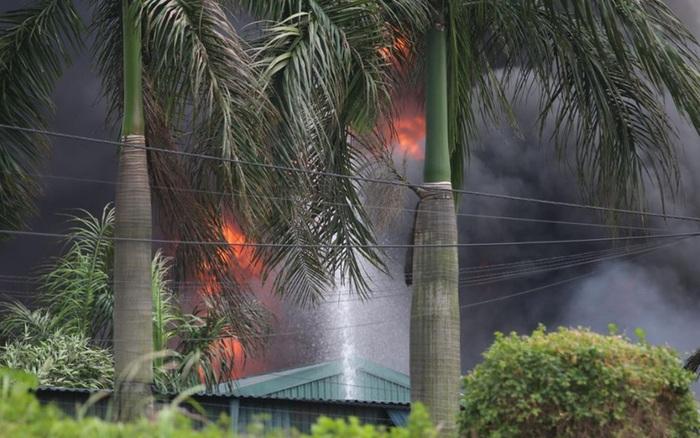Vụ cháy hóa chất ở Long Biên: Phát sinh lượng lớn chất thải nguy hại - kết quả xổ số vĩnh long
