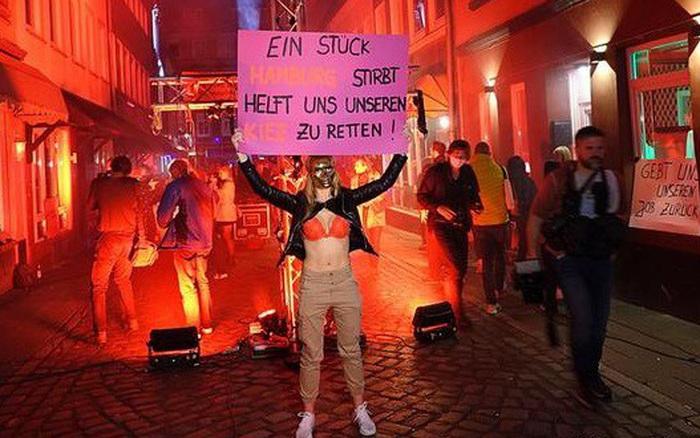 Gái mại dâm Đức biểu tình đòi đi làm khi lệnh cấm Covid-19 ... - kết quả xổ số vĩnh long