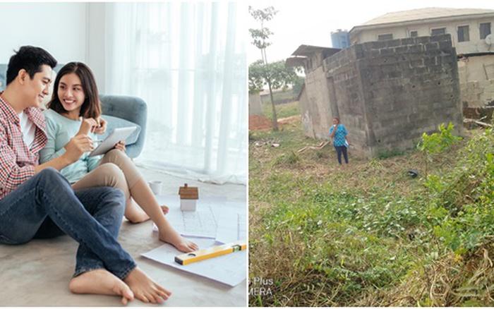 3 năm mua đất xây nhà trị giá 750 triệu của vợ chồng trẻ
