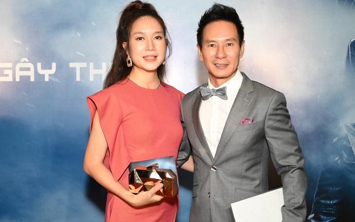 """Vợ chồng Lý Hải - Minh Hà """"trốn con"""" đi xem phim võ ..."""