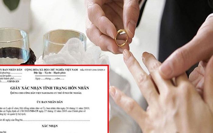 Bộ Tư pháp nói về quy định ghi tên người định cưới vào Giấy ...