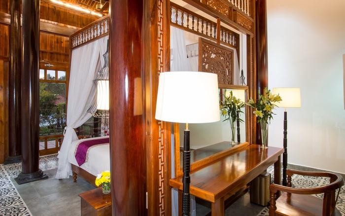 Căn nhà gỗ mang vẻ đẹp của văn hóa truyền thống ẩn mình trong màu xanh thiên nhiên của Phú Quốc - xs thứ hai