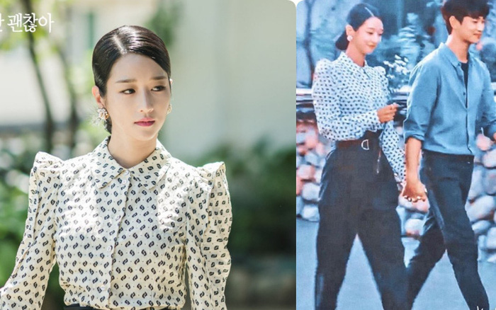 Seo Ye Ji mặc quần áo gọn gàng sau cả 9 tập phim, nhưng đôi giày mix ...