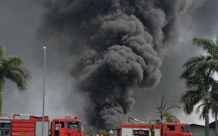 Có hiện tượng rò rỉ hóa chất trong vụ cháy kho xưởng sơn ở Long ... - kết quả xổ số gia lai