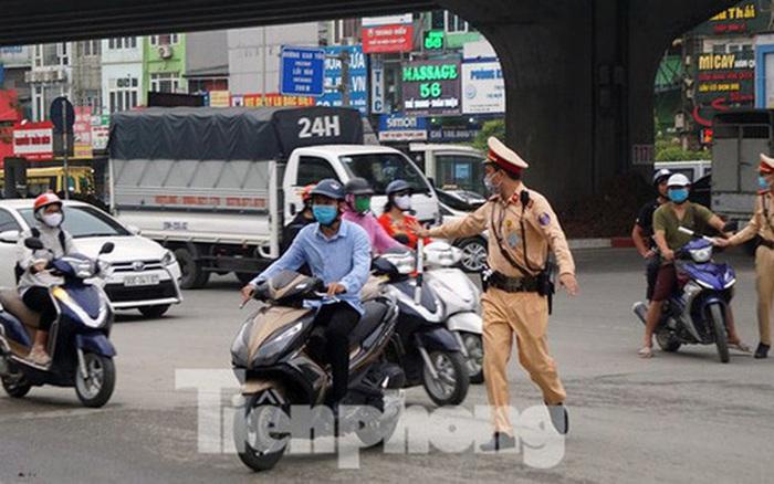 Cảnh sát giao thông mở cao điểm xử lý vi phạm trên toàn quốc