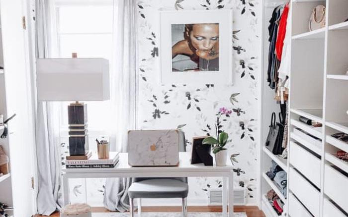8 không gian làm việc lý tưởng để bố trí thêm tủ đồ giúp nhà gọn gàng và thuận tiện khi sử dụng