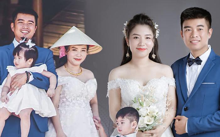 Đôi vợ chồng có với nhau 2 mặt con, cô dâu mang bầu bé thứ 3 ...