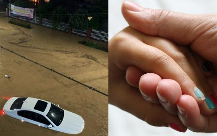 Hàn Quốc: Tuột tay con gái giữa dòng nước lũ gây ngập 2,5m, người mẹ ...