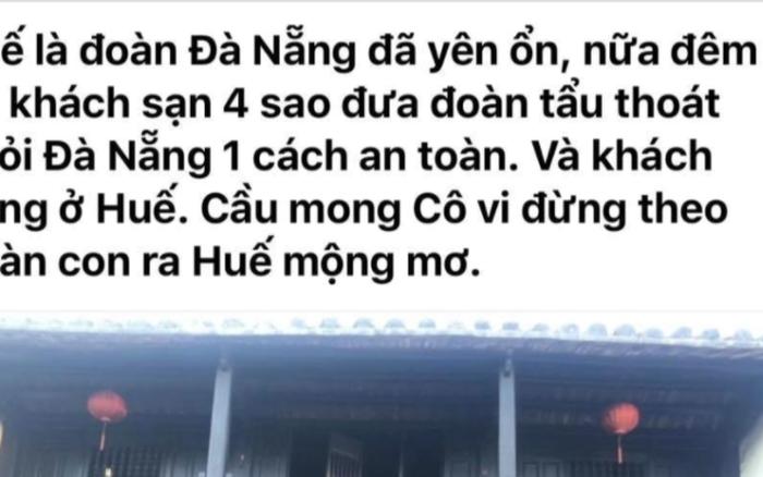 """Nhân viên hãng du lịch lên mạng khoe đưa đoàn khách """"tẩu thoát"""" thành công khỏi Đà Nẵng nhận hình thức kỷ luật"""