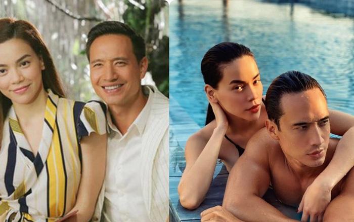 3 cặp đôi Vbiz vợ bầu bí - chồng phong độ: Mới yêu thì chẳng ...