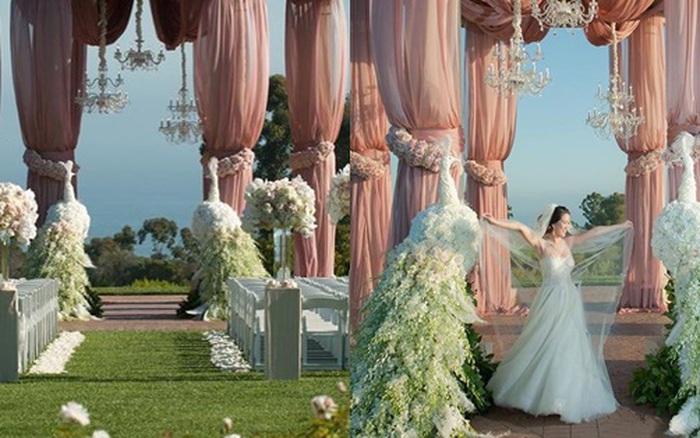 Mimi Morris - không gian kỷ niệm ngày cưới như cổ tích