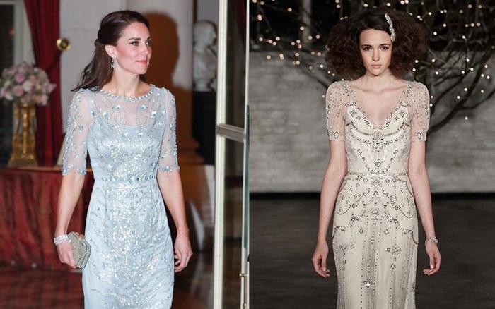 Công nương Kate bao lần diện váy còn sang hơn cả mẫu gốc: Đẳng cấp nữ hoàng tương lai là đây chứ đâu