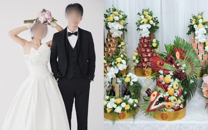 Sắp đến giờ làm lễ kết hôn thì mẹ cô dâu khóc bù lu bù loa tố khổ, câu nói