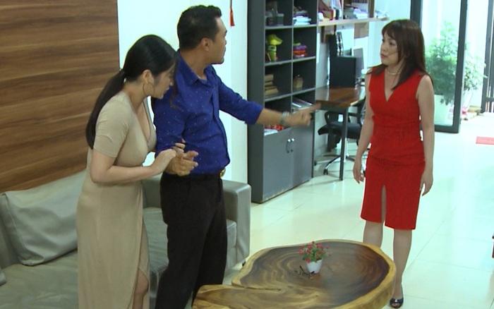 """""""Mẹ ghẻ"""": Sốc với cảnh Thanh Trúc bị vợ cả đến nhà ..."""
