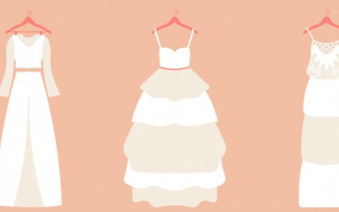 Hãy chọn chiếc đầm cưới hợp gu nhất, câu trả lời sẽ tiết lộ bạn là người phụ ...