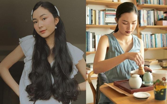 Sở hữu mái tóc dài tưởng như miên man bất tận, đây ...