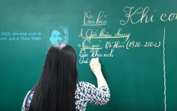Những giáo viên dạy Văn nổi tiếng tại Hà Nội, qua bao năm vẫn nức tiếng ...