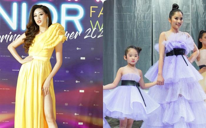 HH Khánh Vân và Nam Anh làm vedette Tuần lễ Thời trang Trẻ em, nhưng ...