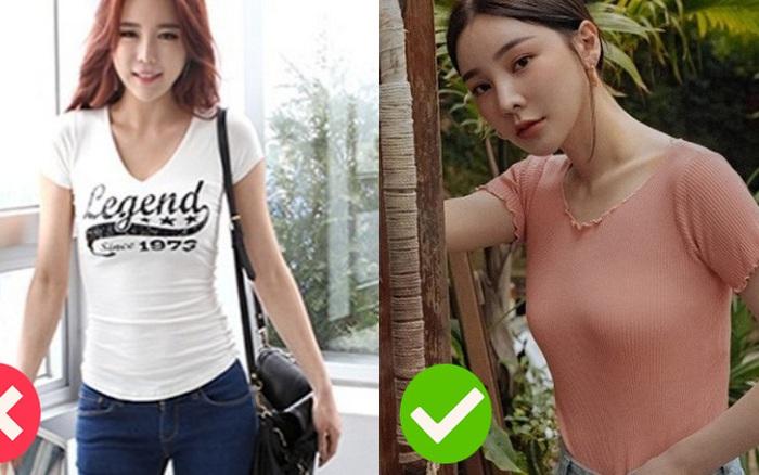 Cơ bản như áo phông cũng có 2 kiểu áo khiến vẻ ngoài của bạn ...