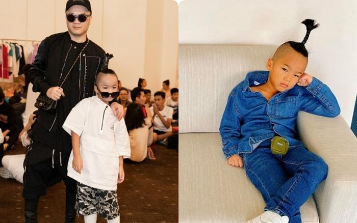 Bé Nhím - con nuôi của NTK Đỗ Mạnh Cường: Có gu thời trang từ khi mới ...