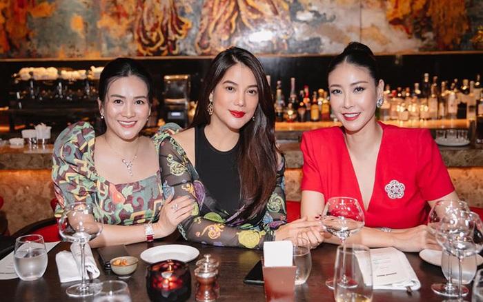 Hội bạn thân toàn hoa hậu, nữ đại gia của bà xã Bình Minh: ...