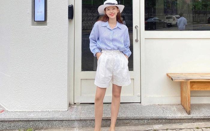 6 chiêu diện quần shorts đơn giản mà xịn mê