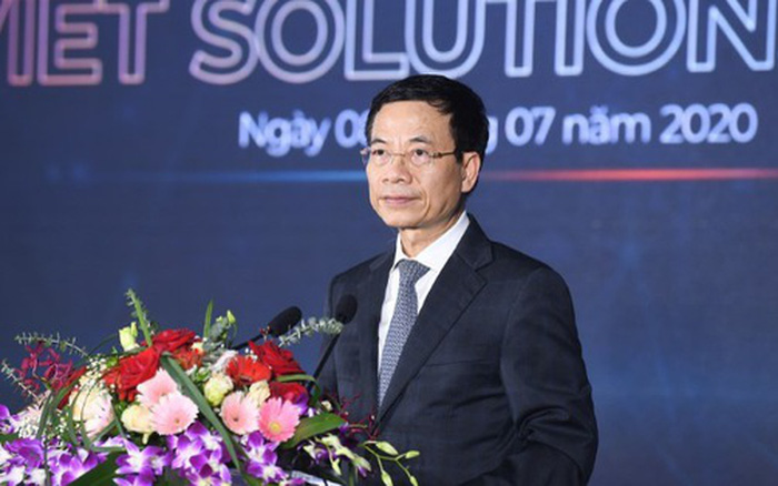 Bộ trưởng Nguyễn Mạnh Hùng: Tìm kiếm giải pháp chuyển đổi số quốc gia để thay ...