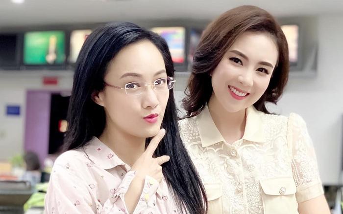 BTV Mai Ngọc và BTV Hoài Anh đọ sắc với khuôn mặt như ...