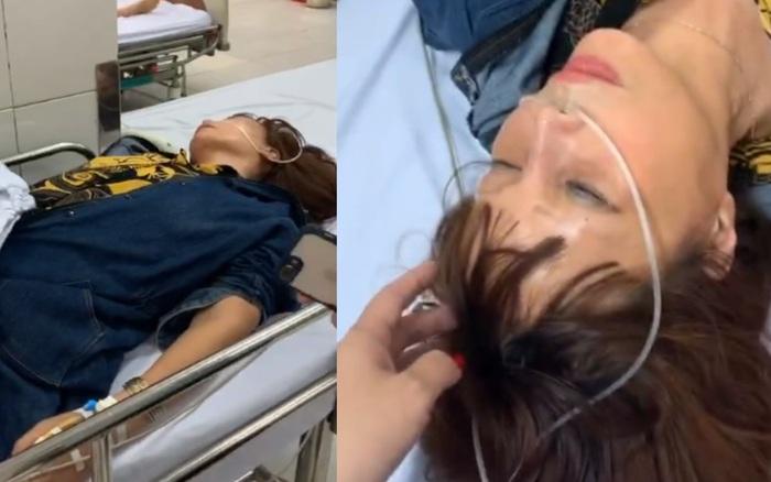 Cô dâu 62 tuổi bất ngờ nhập viện trong đêm, chồng trẻ Hoa Cương chia sẻ ...