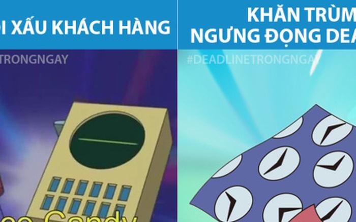 """Khi những bảo bối của Doraemon """"phục vụ"""" dân agency: Nói xấu ..."""